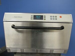 Turbo Chef Hhb High H Batch Rapid Cook Commercial Oven Free Shipping