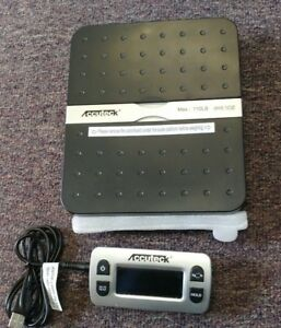 Accuteck Ship Pro 110 Lbs X 0 1 Oz Digital Shipping Postal Scale Black