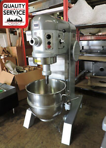 Hobart P660 Commercial 60 Qt Pizza Dough Mixer W 60qt Bowl 2 5hp