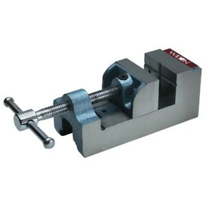 Wilton 12860 Drill Press Vise Continuous Nut 3 Jaw Width 3 1 8 Jaw Opening