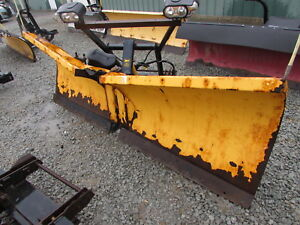 Used Meyer 8 5ft Sv2 V Snow Plow Plow Side Only Ez Mount Plus