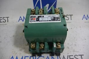 Furnas Size 1 Contactor 30 Amp 14df12aa7 With 120 240v Coil 75d73070a