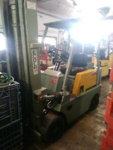 Clark Forklift 6000 Lbs Propane Lift Solid Tires