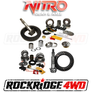 Nitro Gear Package 1995 5 04 Toyota Tacoma W e locker 1996 02 4runner 5 29 Ratio