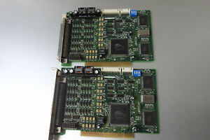 Adlink Pci 8134 4 axis Servo Stepper Motion Controller Lot Of 2