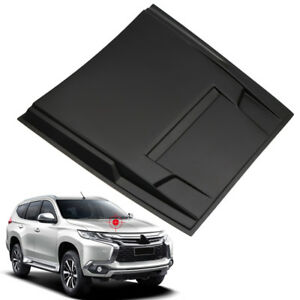 Engine Hood Intake Vent Cover Trim For Mitsubishi Pajero Montero Sport 2016 2018