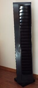 20 tiered Literature Stand 4 sided 80 Pockets For 8 5 X 11 Catalogs Rotates