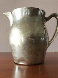 Paul Revere Reproduction By Poole 4 1 2 Sterling Silver Pitcher