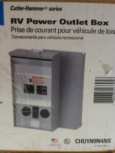 Rv Electrical Power Outlet Panel Box 50a 20 30a Unmetered Camping Accessory 250