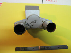 Microscope Part Reichert Austria Head Assembly Metallograph Phase Bin a2