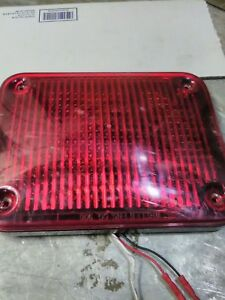 Used Whelen 900 Series Smartled 90r00frr Red Multi Flash Pattern 01 06837385r0b