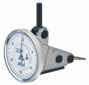 Fowler 52 562 004 Vertical White Dial X test Indicator 0 0005 Graduation Inter