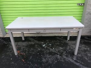 Mcdowell Craig Metal Desk Table With Drawer