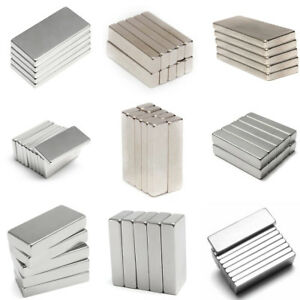 Muti size Strong Magnet Neodymium Square Block Magnets N50 n52 Rare Earth Magnet