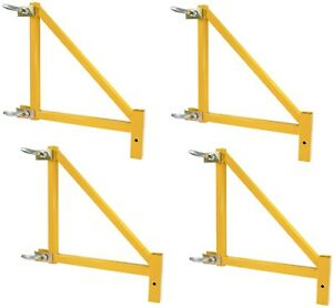18 in Scaffolding Outriggers Set Of 4 Metaltech Baker Steel Maxi Square Werner
