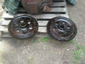 Farmall F 12 Bull Gears Pair Antique Tractor F 12 F 14 ih