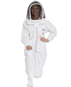 Natural Apiary Max Protect Beekeeping Suit 100 Fine Cotton Beekeeper Suit