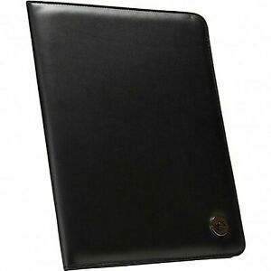 Case it The Chief Padfolio With Letter Size Writing Pad Black pad 20