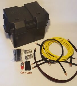 Civic Yellow Battery Relocation D Series Kit W Battery Box