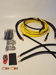 Honda Civic Yellow Battery Relocation D Series Kit With New Grounding Kit