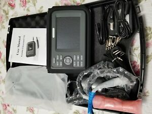 Portable Ultrasound Scanner Veterinary Pregnancy V16 With 7 5 Mhz Rectal Linear
