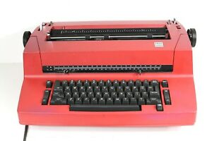 Red Ibm Selectric Ii Electric Typewriter Parts Repair Make Offer