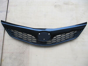 Grille Fit For Toyota Camry Se 2012 14 Prime Black To1200354 Unpainted
