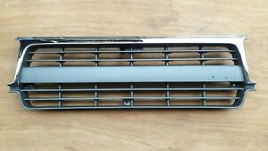 Chrome Painted Grille For Toyota Land Cruiser Fj80 W clips 1990 97 To1200206