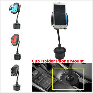 Universal Car Mount Adjustable Cup Holder Stand Cradle For Cell Phone Mobile Gps
