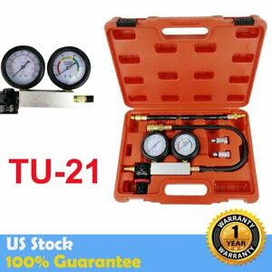 Cylinder Leak Tester Detector Petrol Engine Compression Leakage Detector Kit Us