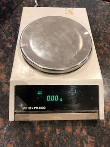 Mettler Toledo Pm 4000 Balance Digital Scale