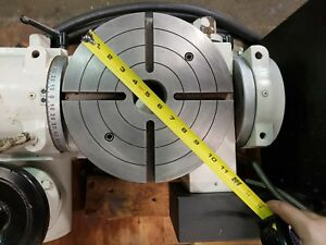 Troyke Ctl 10 b 10 4th Manual 5th Axis Rotary Table
