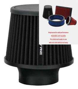 Spectre Performance 9131 Universal Clamp On Air Filter Round Tapered 3 In