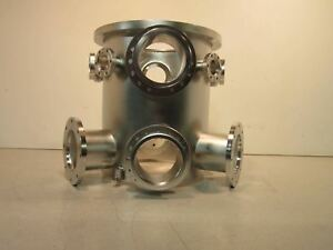 Stainless Steel Chamber With Vacuum Fitting