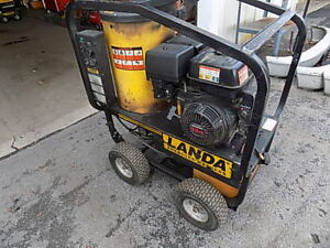 Landa Mvc4 3000e Industrial Hot Water Pressure Washer steam Cleaner