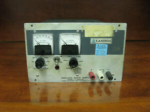 Lambda Regulated Power Supply Model Lh 128a Fm
