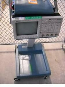 Tektronix Tds460 Oscilloscope W k212portable Cart