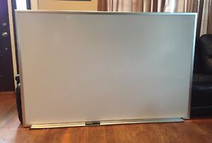 Quartet Magnetic Dry Erase White Board Large 6 X 4 72 X 46 44