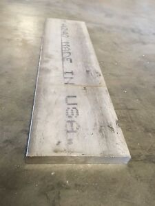 1 2 X 4 X 15 5 316 Stainless Steel Flat Bar