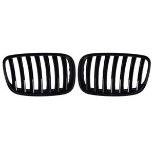 Gloss Black Front Kidney Grill Grille For Bmw E70 E71 Model X5 X6 Suv 2007 2013