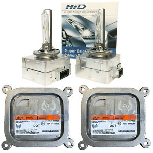 New 2008 2017 Ford Mustang Xenon Headlight Ballast With D3s Hid Bulb Set