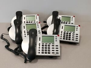 Lot Of 5 Shoretel Ip 230 Voip Phone Systems
