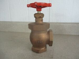 Stockham 2 Brass Globe Valve 150s 300cwp Fig b 222t 1127845h New