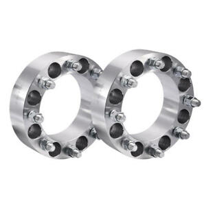 2pcs 8x6 5 To 8x6 5 Wheel Spacers Adapters 8lug For Chevy Gmc C K 2500 3500 Gmc