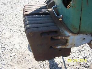 Deutz 90 06 Tractor Front Weight One Weight Only
