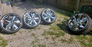 24 Inch Pinnacle Messiah Wheels And Tires