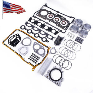 1 8t Engine Rebuilding Kits Overhaul Package For Vw Jetta Mk4 99 06