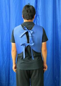 New Type X ray Protection Protective Lead Vest Apron 0 5mmpb Blue Fa06 M Sanyi