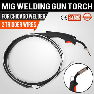 Chicago Electric Welder Mig Welding Gun Ship Cheap Stable Up to date Styling