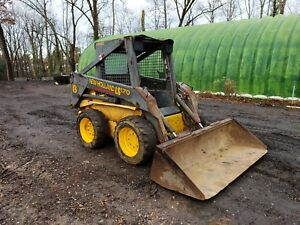 New Holland Ls170 Skid Steer Loader 3468 Hrs Runs Well